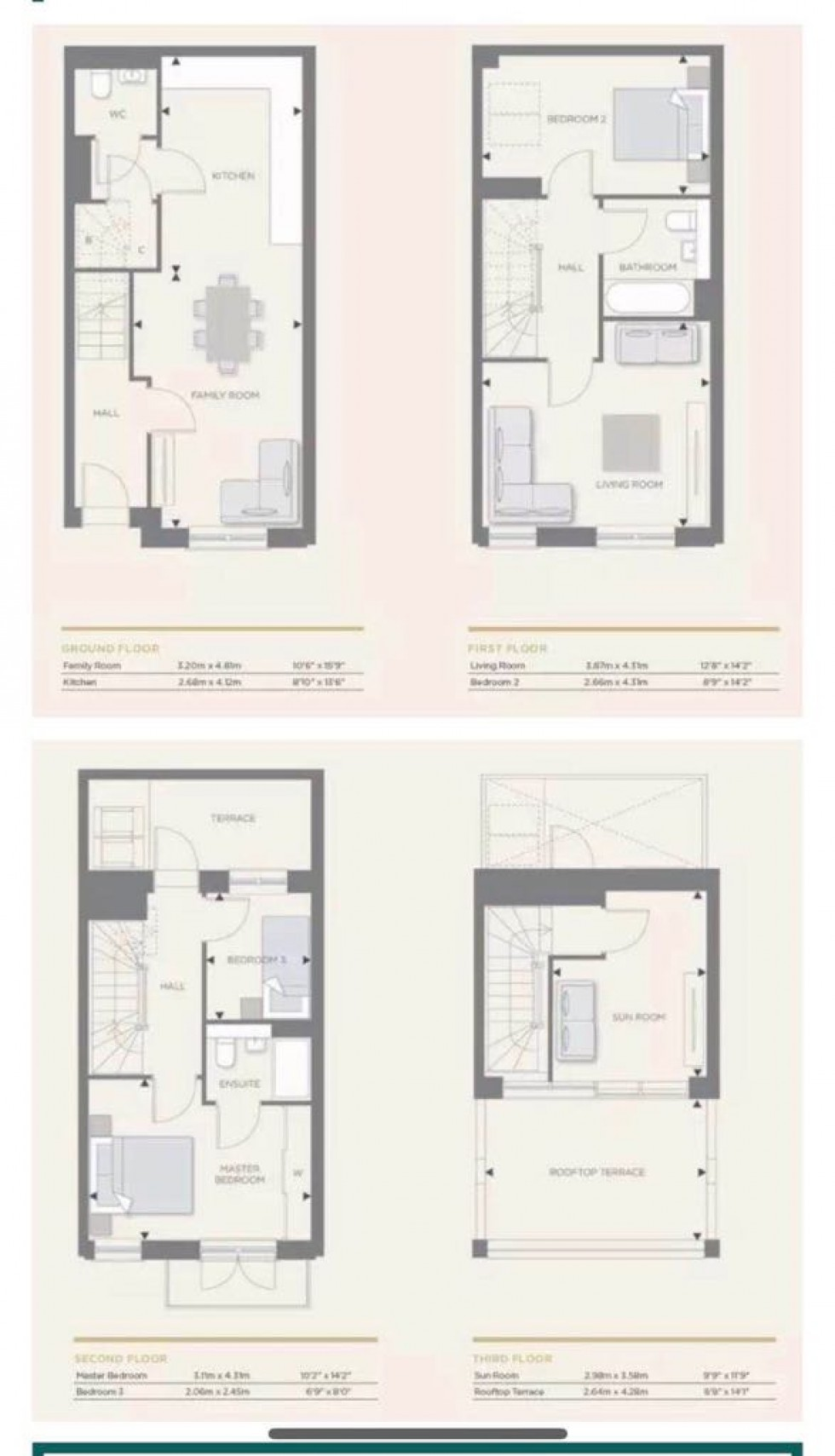 Floorplan for Longwater Reach, Reading